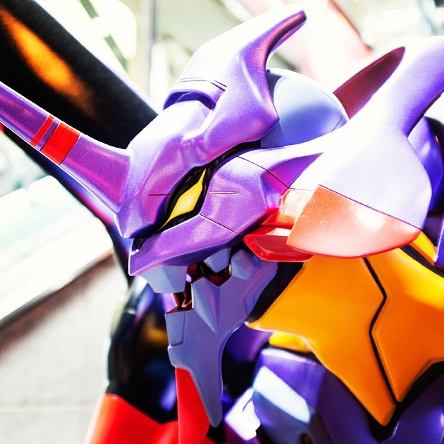 Japan Greets Inbound Travelers With Life Size Evangelion