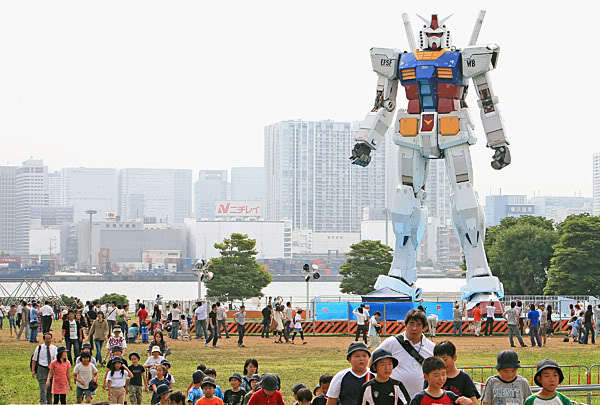 Japanese L.D.P Talk About Building Gundam! No Seriously, Real, Functioning Gundam!