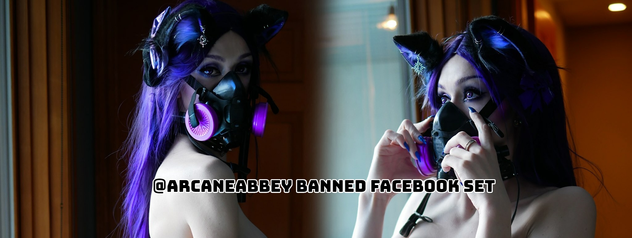BANNED on Facebook! Drop Dead Sexy @ArcaneAbbey Set