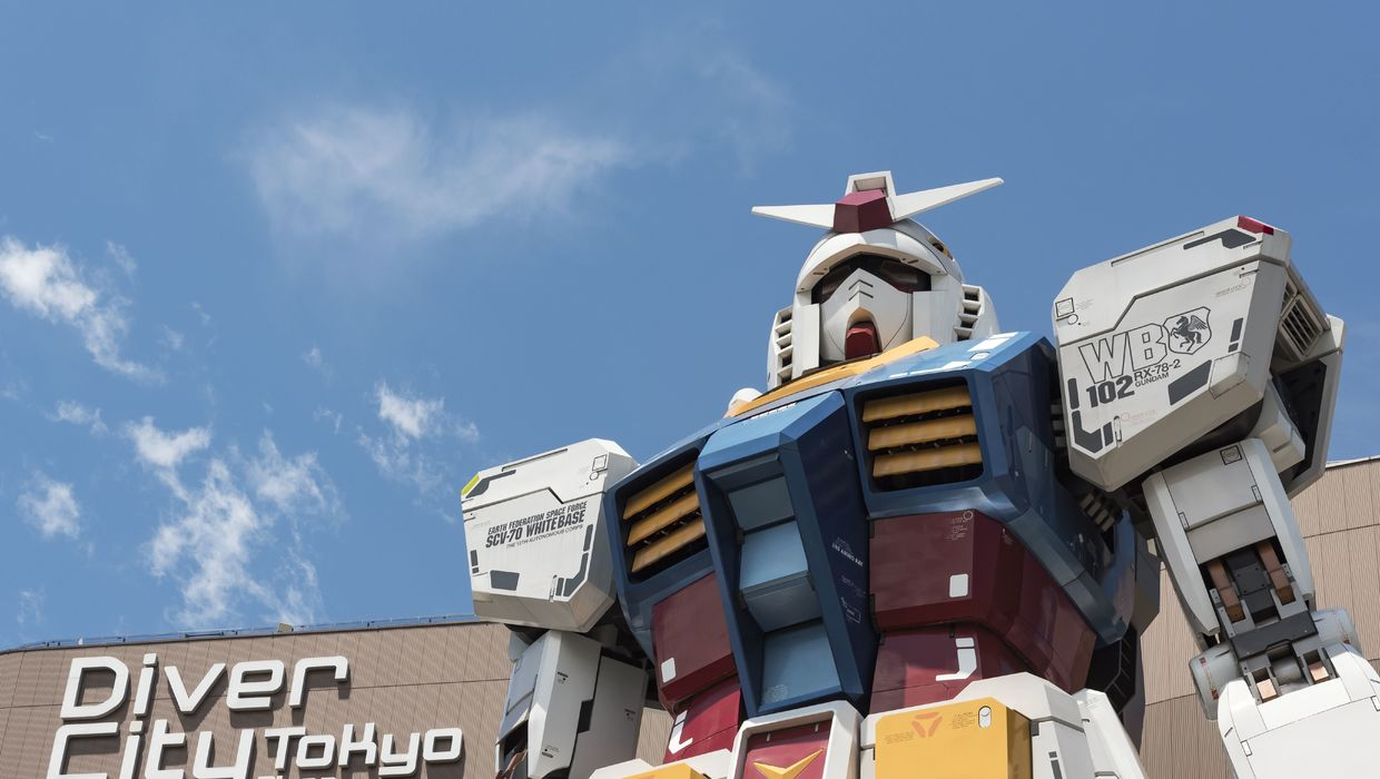 Japan Does It! Live-Sized Gundam Will Be Taking Its First Steps in The Fall