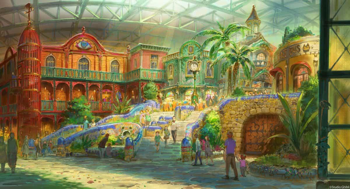 A Theme Park Based Around Studio Ghibli Productions