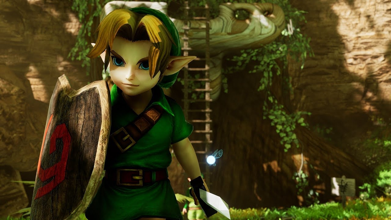 Legend of Zelda Ocarina of Time Updated in Unreal Engine 4 is a Work of Art