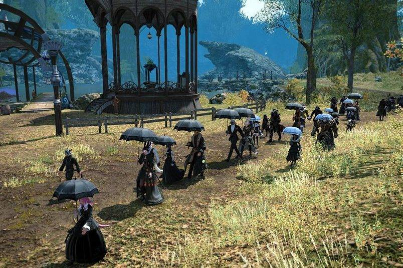 Final Fantasy Online Players Hold Funeral For Player Who Died From COVID-19